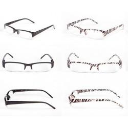 Okulary do czytania półoprawka z tworzywa sztucznego model: 1221 + ETUI GRATIS