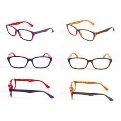 Okulary do czytania oprawka z tworzywa sztucznego model: 1235 + ETUI GRATIS