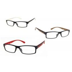 Okulary do czytania oprawka z tworzywa sztucznego model: 1237 + ETUI GRATIS