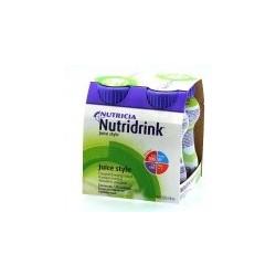 Nutridrink Juice Style o smaku jabłkowym 4 x 200 ml