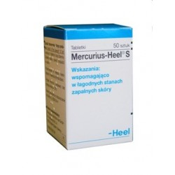 Mercurius-Heel S tabletki 50 tabl.