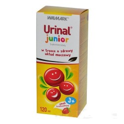 Urinal Junior syrop o smaku truskawkowym 120 ml