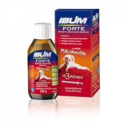 Ibum Forte 200 mg/5 ml zawiesina doustna 100g smak malinowy