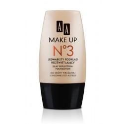 AA Make Up No 3 Jedwabisty podkład rozświetlający 30 ml