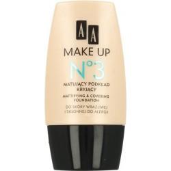 AA Make Up No 3 Matujący podkład kryjący 30 ml