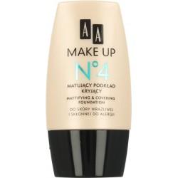 AA Make Up No 4 Matujący podkład kryjący 30 ml