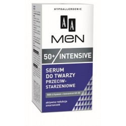 AA Men 50+ Intensive Serum do twarzy przeciwstarzeniowe 50 ml