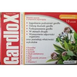 Gardlox pastylki ziołowe o smaku pomarańczowym  16 sztuk