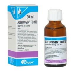 Acifungin Forte roztwór na skórę płyn 30ml