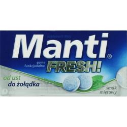 Manti Fresh guma funkcjonalna o smaku miętowym 10szt.