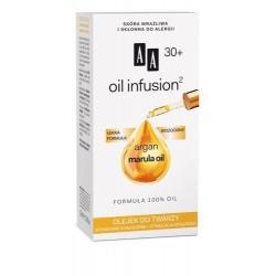 AA Oil Infusion 30+ Olejek do twarzy intensywne wygładzenie + witalność 15ml