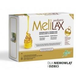 Melilax Pediatric Mikrowlewka z Promelaxin 6 mikrowlewek jednorazowych po 5g