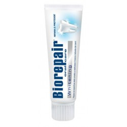 BioRepair Whitening pasta do zębów odbudowująca szkliwo zębowe i przywracająca naturalną biel 100 ml