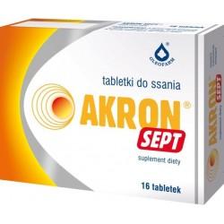 Akron Sept tabletki do ssania 16tabl.