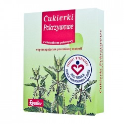 Cukierki Pokrzywowe z ekstraktem z pokrzywy pastylki 50g