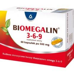 Biomegalin 3-6-9 kapsułki 60 kaps.