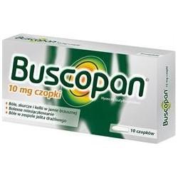 Buscopan 10 mg czopki 10szt.