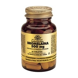 Bromelaina 500 mg tabletki 30tabl.