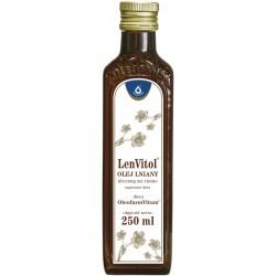 Olej Lniany Budwigowy płyn 250 ml