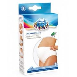 Canpol Figi dla kobiet w ciąży zakrywające brzuch - klasyczne, bawełniane 1szt.