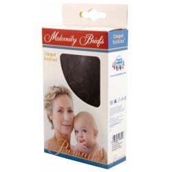 Canpol Figi koronkowe dla kobiet w ciąży wycięte pod brzuchem czarne 1szt.