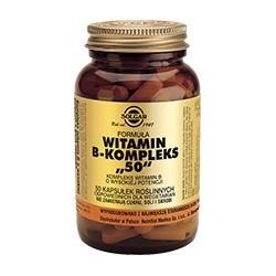"""Witamina B-kompleks """"50"""" Kompleks witamin B o wysokiej potencji kapsułki 50kaps."""