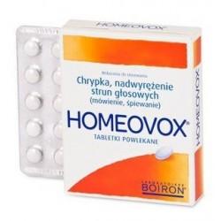 Homeovox tabletki powlekane 60 tabl.