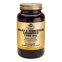 Olej z Siemienia Lnianego kapsułki 90kaps.