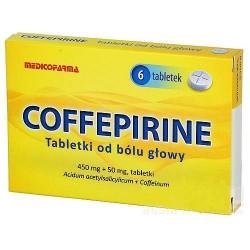 Coffepirine tabletki 6 tabl.