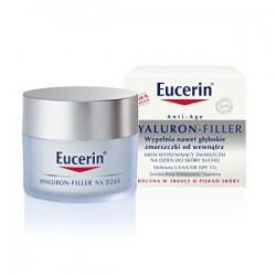 Eucerin HYALURON - FILLER Krem wypełniający zmarszczki na dzień do skóry suchej 50 ml