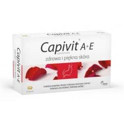 Capivit A + E Zdrowa i piękna skóra kapsułki 30 kaps.