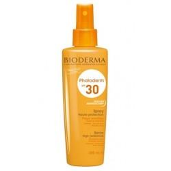 Bioderma Photoderm Spray SPF 30 Spray ochronny dla całej rodziny 200ml