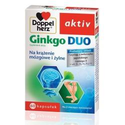 Doppelherz Ginkgo Duo kapsułki 60kaps.