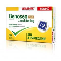 Benosen Plus z melatoniną tabletki 30 tabl.