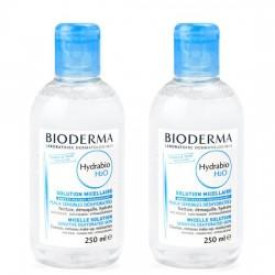Bioderma Hydrabio H2O płyn micelarny 250ml + Bioderma Hydrabio H2O płyn micelarny 250ml GRATIS