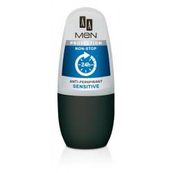 AA Men Protection Non-Stop Anti-Perspirant Sensitive bezapachowy 50ml
